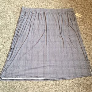NWT Relaxed Maxi Skirt